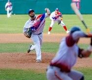 El lanzador zurdo Héctor Hernández tiró cinco entradas completas sin permitir carreras ante los Caribes de Anzoátegui de Venezuela.