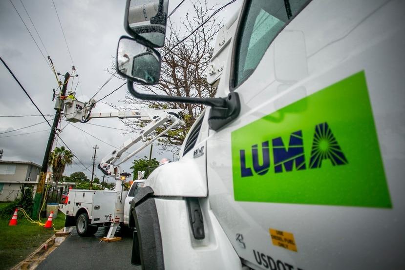 LUMA está a cargo de la operación y mantenimiento de la red eléctrica desde el pasado 1 de junio.