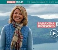 Samantha Brown se hizo famosa por sus programas en el Travel Channel que presentó desde 1999 por casi dos décadas y ahora en PBS, donde desde el 2017 presenta Places to Love. (Tomado de www.samantha-brown.com)
