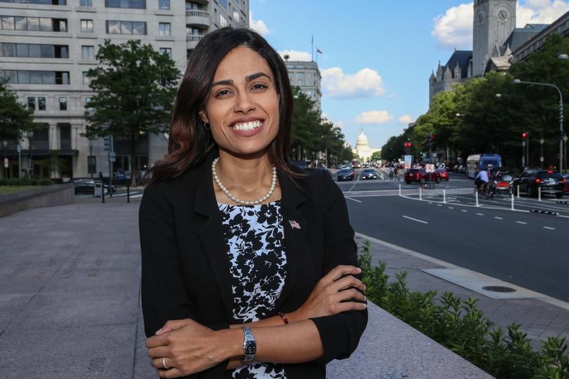 Tatiana Matta, candidata boricua demócrata que aspira al Congreso de EE.UU. (Armando Gallardo / Especial para El Nuevo Día)