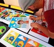 Alrededor de 65 artistas presentaron sus piezas en diversos medios que van desde el dibujo hasta el mural.