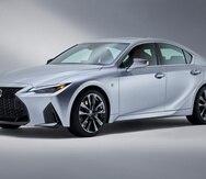 Nuevo Lexus IS del 2021. (Suministrada)