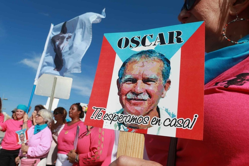 la Agenda Nacional Puertorriqueña también acordó respaldar los reclamos a favor de la excarcelación de Oscar López Rivera. (Archivo GFR Media)