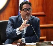 Joel Franqui aseguró que su proyecto de ley era voluntario y que no obligaba a los ancianos a entregar sus casas a cambio de servicios sociales. (GFR Media)