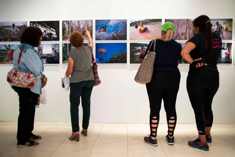 """La exhibición """"A un año de María"""" se trata de una selección de 122 imágenes que recogen el trabajo de 14 fotoperiodistas, de El Nuevo Día y Primera Hora."""
