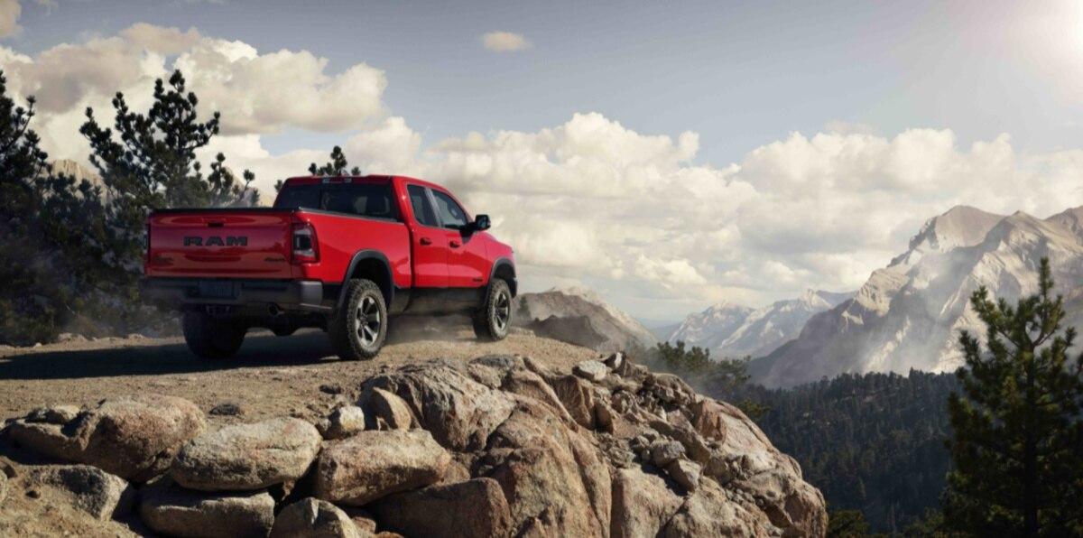 La Ram 1500 ocupó el segundo lugar entre las pickups grandes para trabajo ligero.