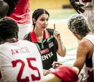 Liz Mills clasificó a Kenya al AfroBasket e hizo historia