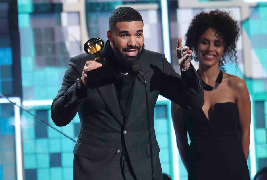 """Mejor canción rap (composición): """"God's Plan"""", Drake."""