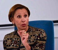 Nydia Velázquez, congresista puertorriqueña.