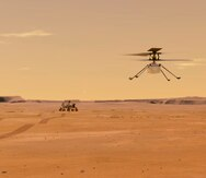 Histórico: el helicóptero Ingenuity completa en Marte el primer vuelo propulsado y controlado en otro planeta