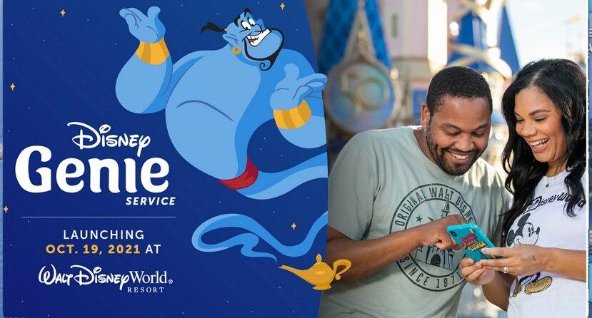 Llega Disney Genie y Disney Genie + para pagar por atracciones sin filas.