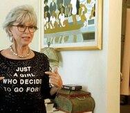 "Rita Moreno en una escena del documental ""Rita Moreno: Just a Girl Who Decided to Go For It"". (Sundance Institute vía AP)"