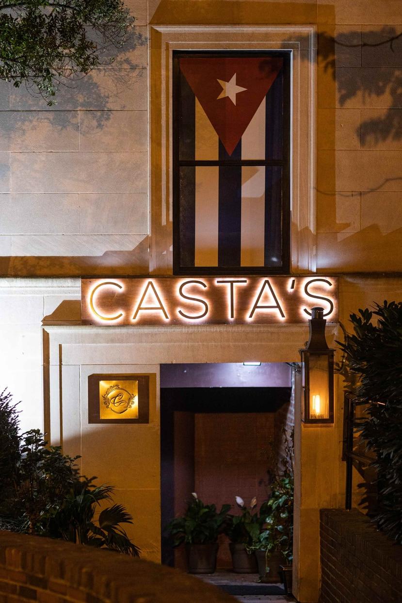 Fachada exterior del restaurante Casta's en Washington D.C. (Suministrada)