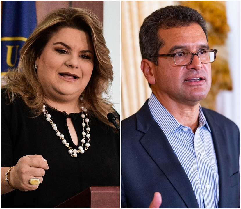 Jenniffer González y Pedro Pierluisi opinaron que la gobernadora no está obligada a explicar la razón por la que despidió a Dennise Longo Quiñones. (Fotomontaje / El Nuevo Día)
