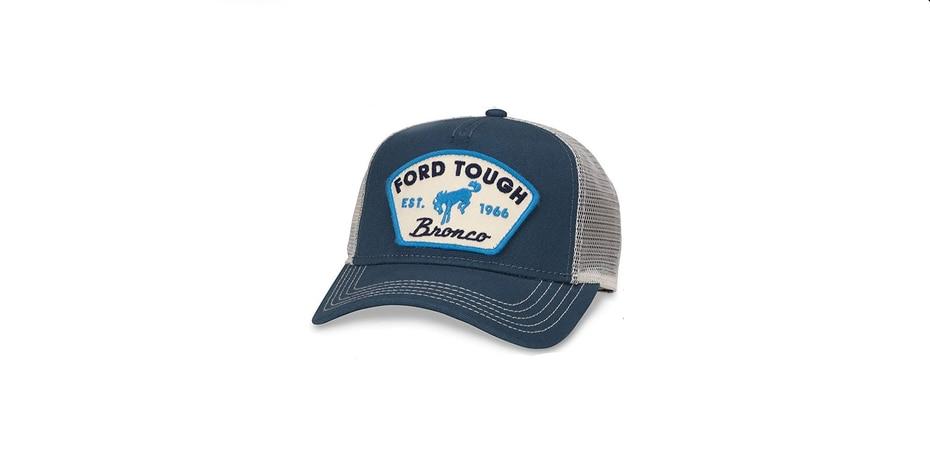 Gorra para los fanáticos del Ford Bronco. (Suministrada)