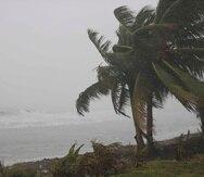 En cuanto a las condiciones marítimas, se registró una marejada ciclónica de cuatro a seis pies en la costa norte y de dos a cuatro pies en el sur. (Toa Baja / Teresa Canino)