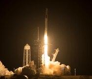 SpaceX lanza la segunda misión comercial a la Estación Espacial Internacional