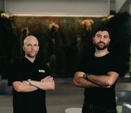 Max Pérez (izq.), socio fundador de Buena Vibra, y Avedis Boudakian, socio fundador de The Electric Factory .