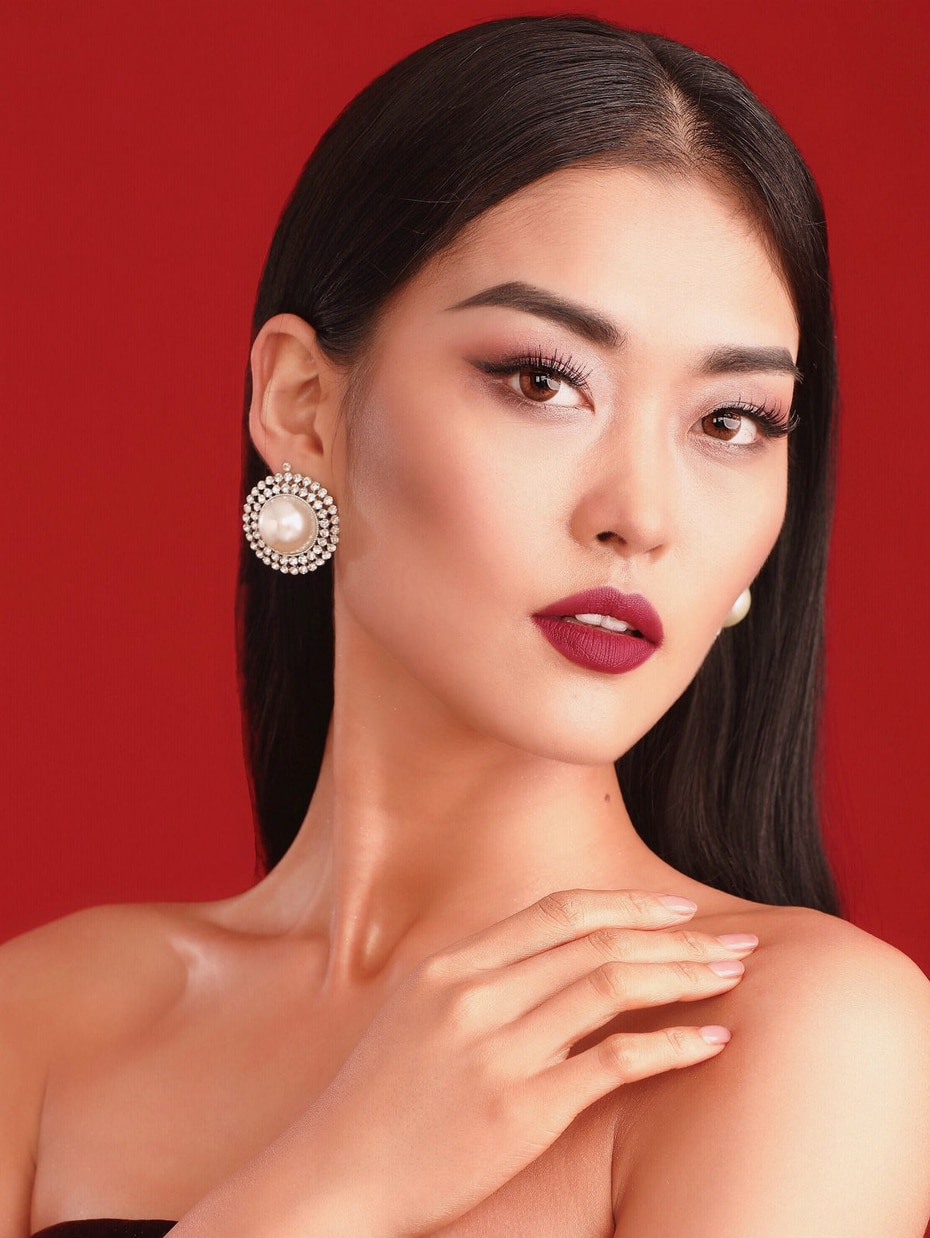 Miss China, Xin Zhu, de 26 años es modelo y maquillista. (Copyright © 2016, IMG Universe, LLC. All rights reserved)