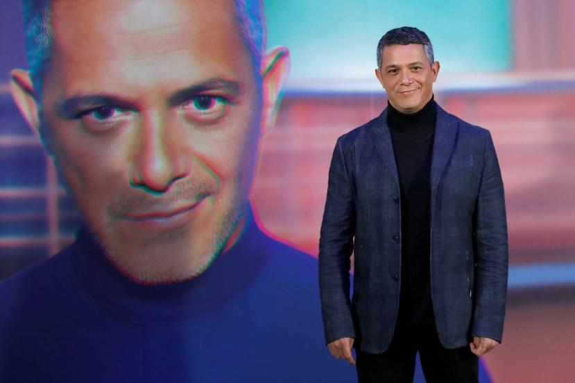 """El cantante español durante el estreno de su sencillo, """"No tengo nada"""". (Agencia EFE)"""