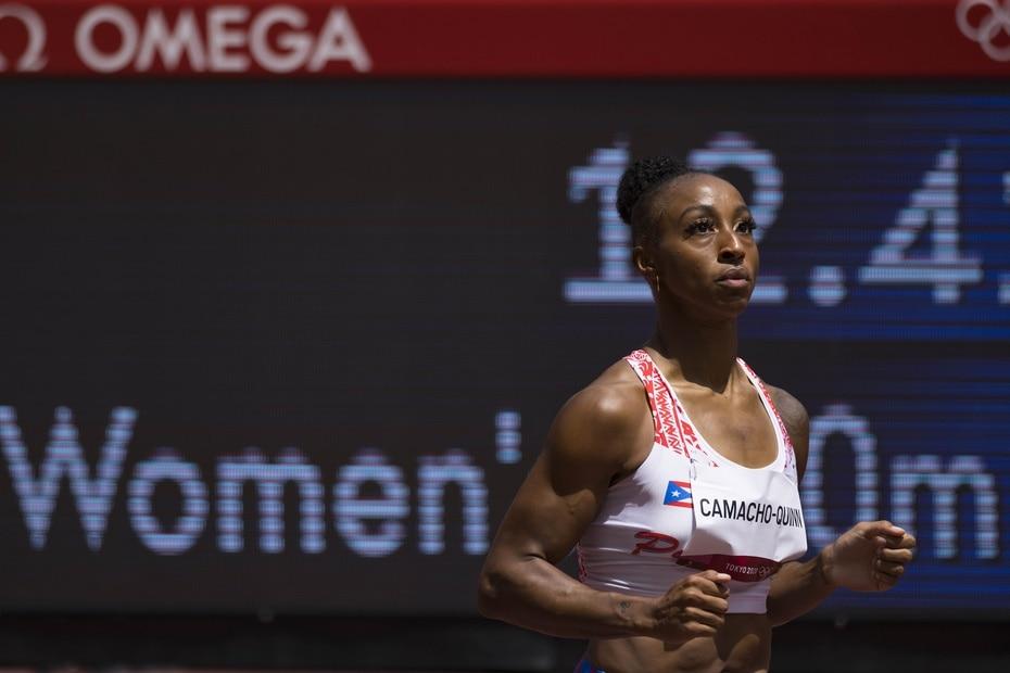 Camacho-Quinn llegó a Tokio 2020 como una de las corredoras que dominaron la temporadas de los 100 metros con vallas. Tiene el mejor tiempo del año. (12.32).