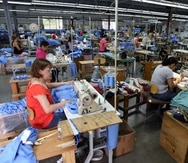 En la cooperativa laboran 30 personas, en su mayoría féminas.