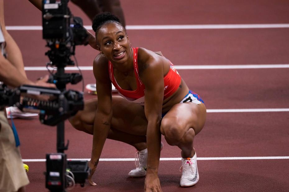 También busca ser la segunda medallista olímpica de Borinquen en el deporte de pista y campo luego del bronce que logró en la edición de Londres 2012 el vallista Javier Culson.