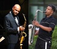 Los saxofonistas puertorriqueños Miguel Zenón y David Sánchez se presentan juntos en concierto el miércoles 2 de junio en el Festival Casals con un programa dedicado enteramente al jazz.