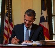 2 de julio del 2021San Juan, Puerto Rico Fotos del Gobernador Pedro Pierluisi durante una entrevista con motivo de sus seis meses en el cargo.Teresa Canino Rivera/STAFFteresa.canino@gfrmedia.com