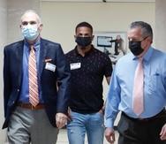 Antes del arresto federal, Félix Verdejo asistió a una citación en las oficinas del CIC de San Juan junto con sus abogados en momentos en que se intentaba dar con el paradero de Keishla Rodríguez, pero el boxeador guardó silencio.