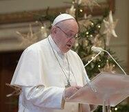"""El papa Francisco durante Año Nuevo: """"Se necesita la vacuna para el corazón"""""""