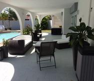 Vista de la hospedería a corto plazo Cozy House, en Dorado.