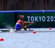 Verónica Toro dijo que aspira ahora colarse entre las mejores 24 remeras de los Juegos Olímpicos de Tokio en su modalidad.