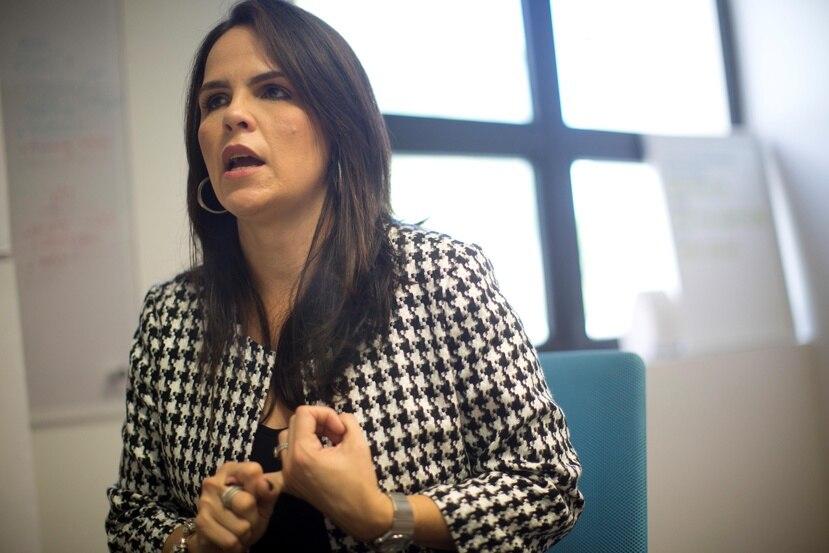 Natalia Colón Díaz dijo que la derogación de la Ley 80 obligará a las empresas a invertir más en la administración de recursos humanos. (Suministrada)