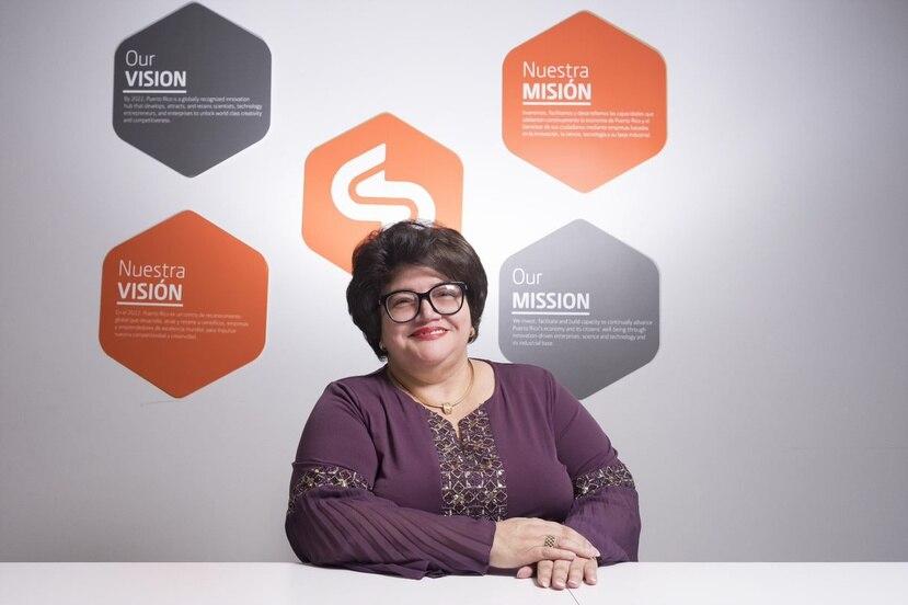 Ing. Lucy Crespo, principal oficial ejecutiva del Fideicomiso para Ciencia, Tecnología e Investigación de Puerto Rico.