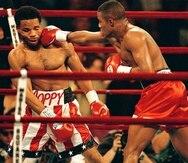"""Félix """"Tito"""" Trinidad ganó un título en el peso mediano tras derrotar a William Joppy.  (GFR Media)"""