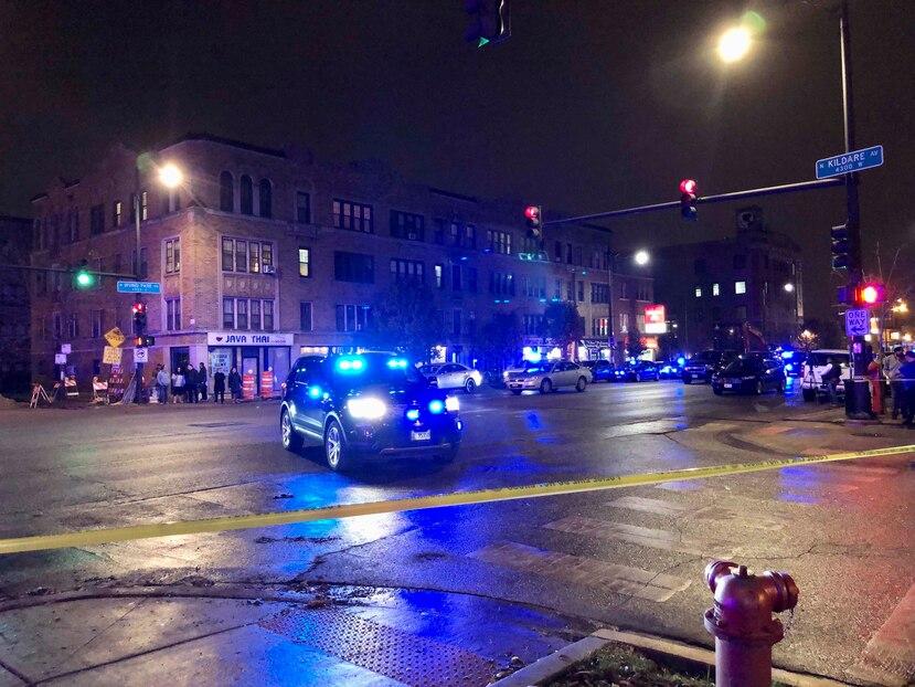 Los detectives de Aurora creen que el tiroteo es un incidente aislado y no parece tratarse de un acto al azar. (Sam Charles/Chicago Sun-Times via AP)