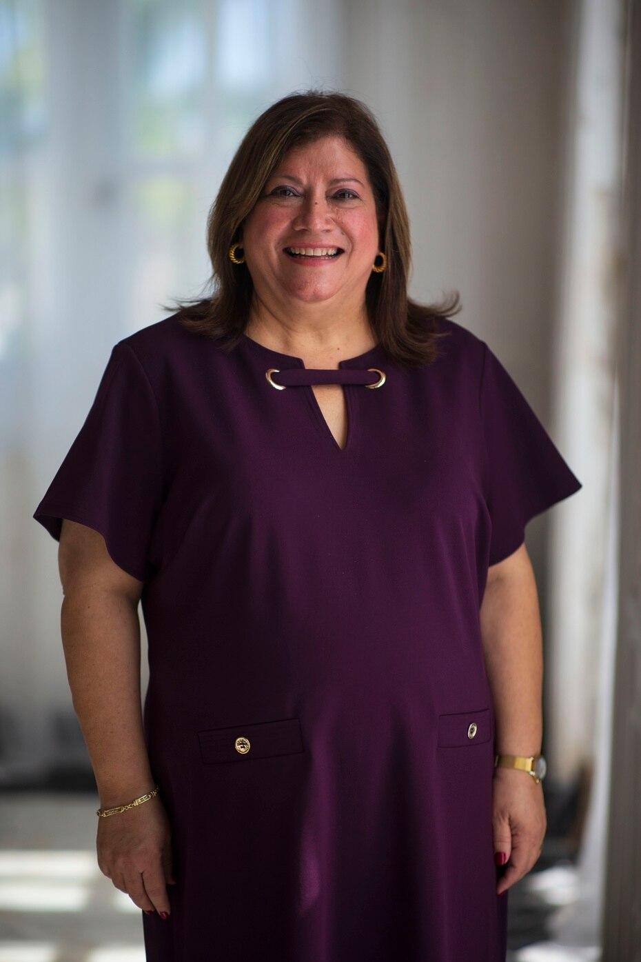 Carmen Salgado, administradora de La Fortaleza.