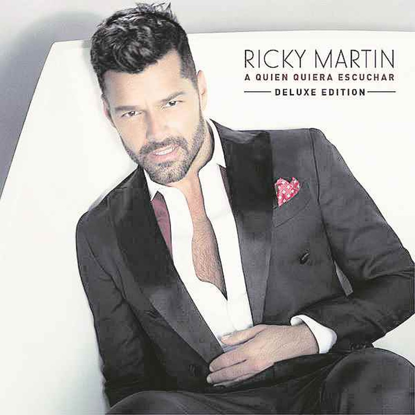 Este es el álbum con el que Ricky Martin parte de la madurez hacia un futuro que parece no conocer límites.