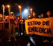 A finales de septiembre, múltiples organizaciones se agruparon para exigirle, nuevamente, a la gobernadora que declare un estado de emergencia ante el ataque incesante contra las mujeres.
