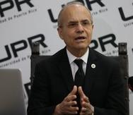 Jorge Haddock Acevedo asumió la presidencia de la UPR el 4 de septiembre de 2018.