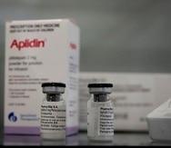 Vista del compuesto del laboratorio PharmaMar que ha dado resultados positivos en la búsqueda de medicamentos para tratar el Covid-19.