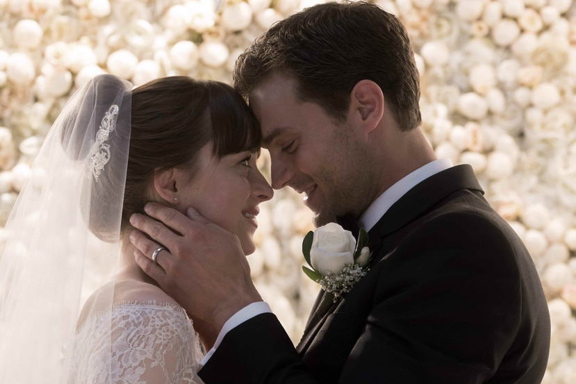 """Fifty Shades Freed"" superó a los filmes ""Peter Rabbit"" y ""The 15:17 to Paris"". (IMDB)"