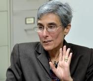 Michelle Hernández indicó que, durante su mandato, estaban al día con los adiestramientos a miembros de la Policía.