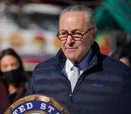 Charles Schumer, líder de la mayoría demócrata del Senado.