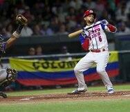 Jack López aquí en uniforme de Puerto Rico en la Serie del Caribe, levantó el interés de USA Baseball, que solicitó permiso a la Federación de Béisbol local con un trámite a través de la WBSC.