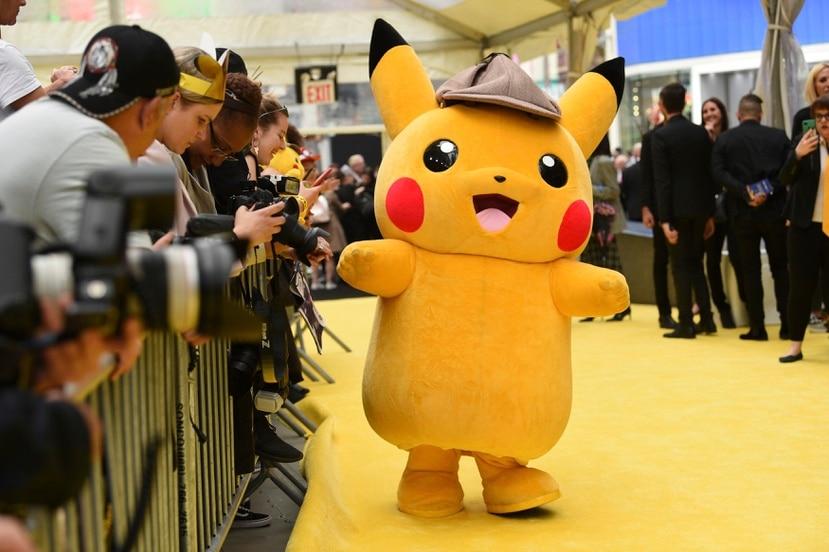 """El personaje de Pikachu es uno de los más reconocidos de la serie japonesa """"Pokémon""""."""