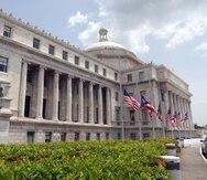 Imagen del Capitolio de Puerto Rico.