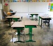 El secretario interino de Educación, Eliezer Ramos Parés, informó a mediados de julio que ya se habían instalado 4,308 purificadores de aire en las escuelas.