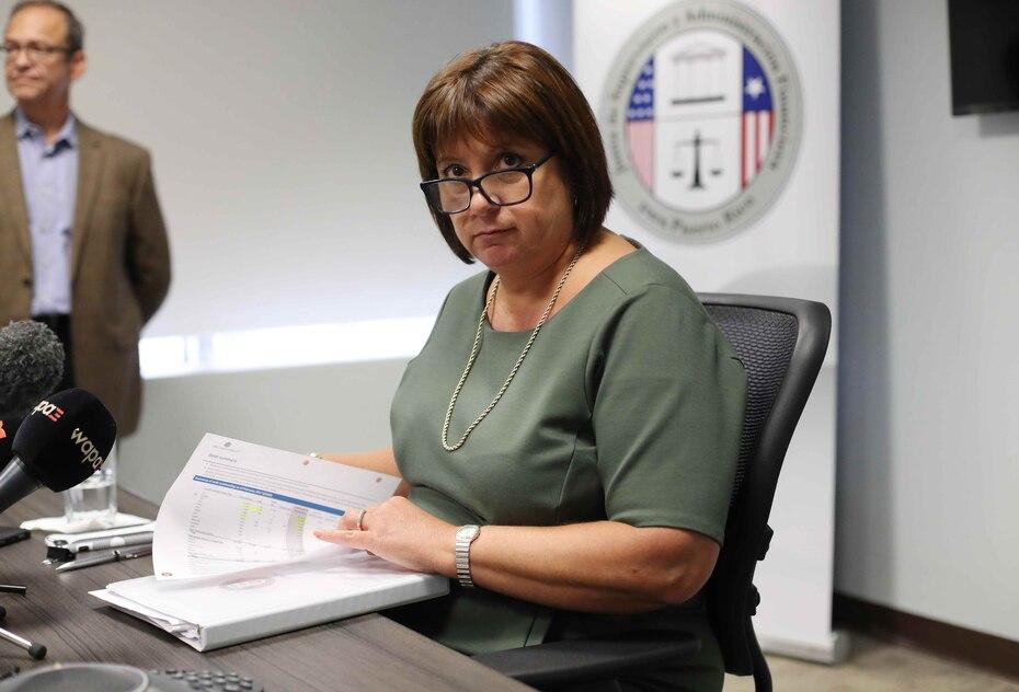 Natalie Jaresko, directora del ente federal